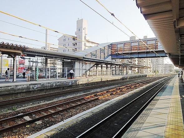 JR春日井駅‐春日井市の中心を走るJR中央線、1日15000人が利用する駅
