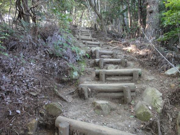 弥勒山東海自然歩道