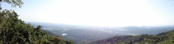 弥勒山山頂パノラマ