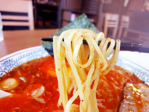 丸源ラーメンの麺