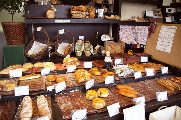 パン工房エピEPI春日井市白山町にある国内産小麦だけを使用した本格パン屋さん