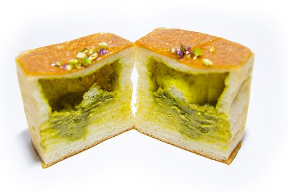 ピスタチオクリームパン2