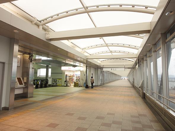 神領駅コンコース