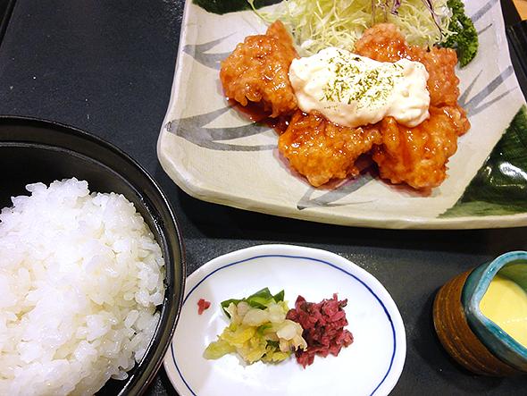 チキン南蛮定食980円