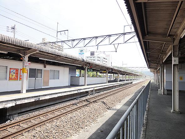 高蔵寺駅ホーム