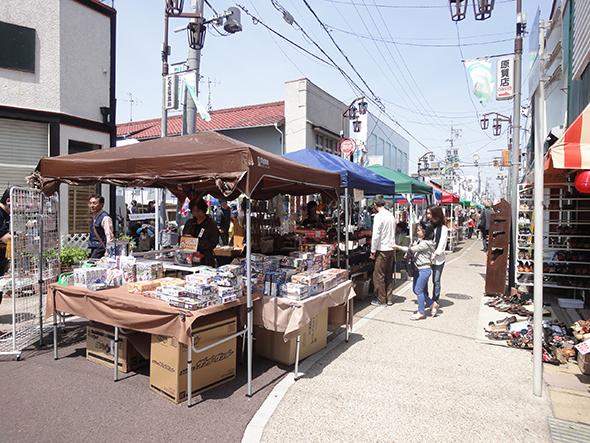 勝川商店街の出店