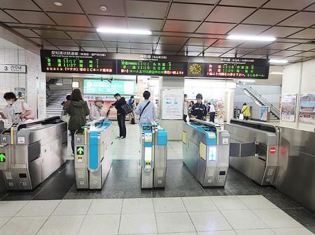 高蔵寺駅改札口