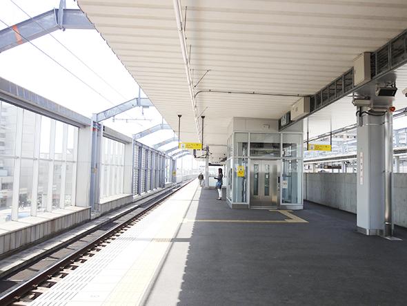 勝川駅ホーム