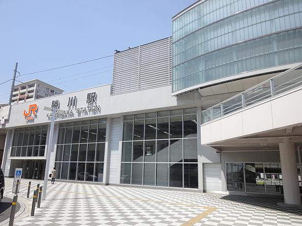勝川駅JR中央線勝川駅周辺の景色