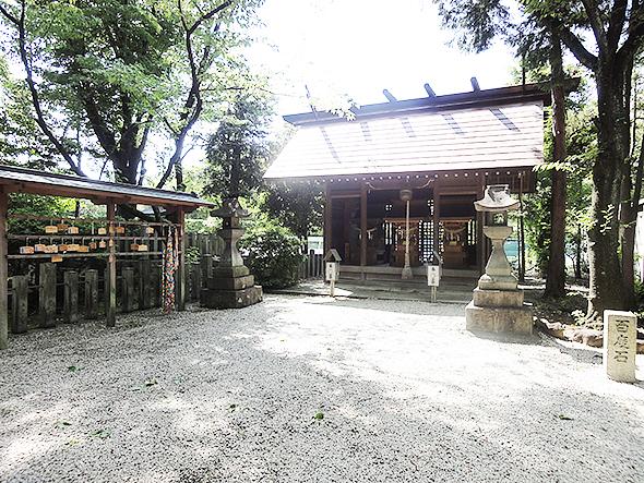 坂下神社横