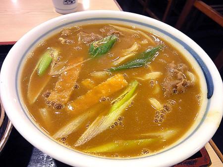 えびすや勝川店のカレーうどん