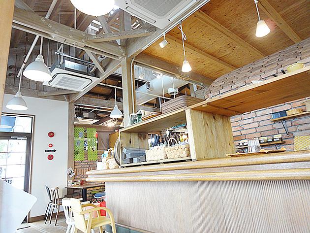 リ・スタイルカフェのキッチン