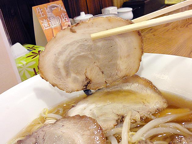 トントンのチャーシュー麺のチャーシュー