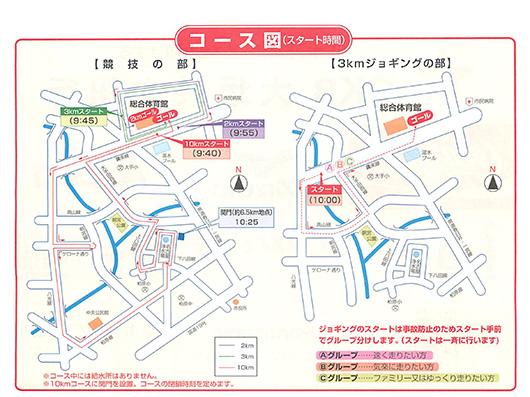 春日井マラソンコース