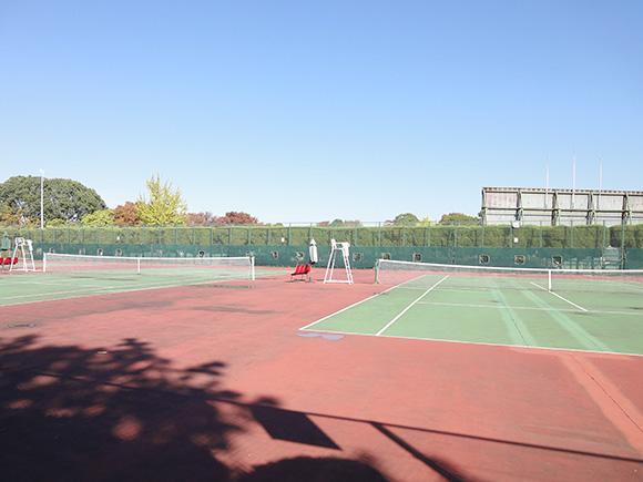 朝宮公園テニスコート